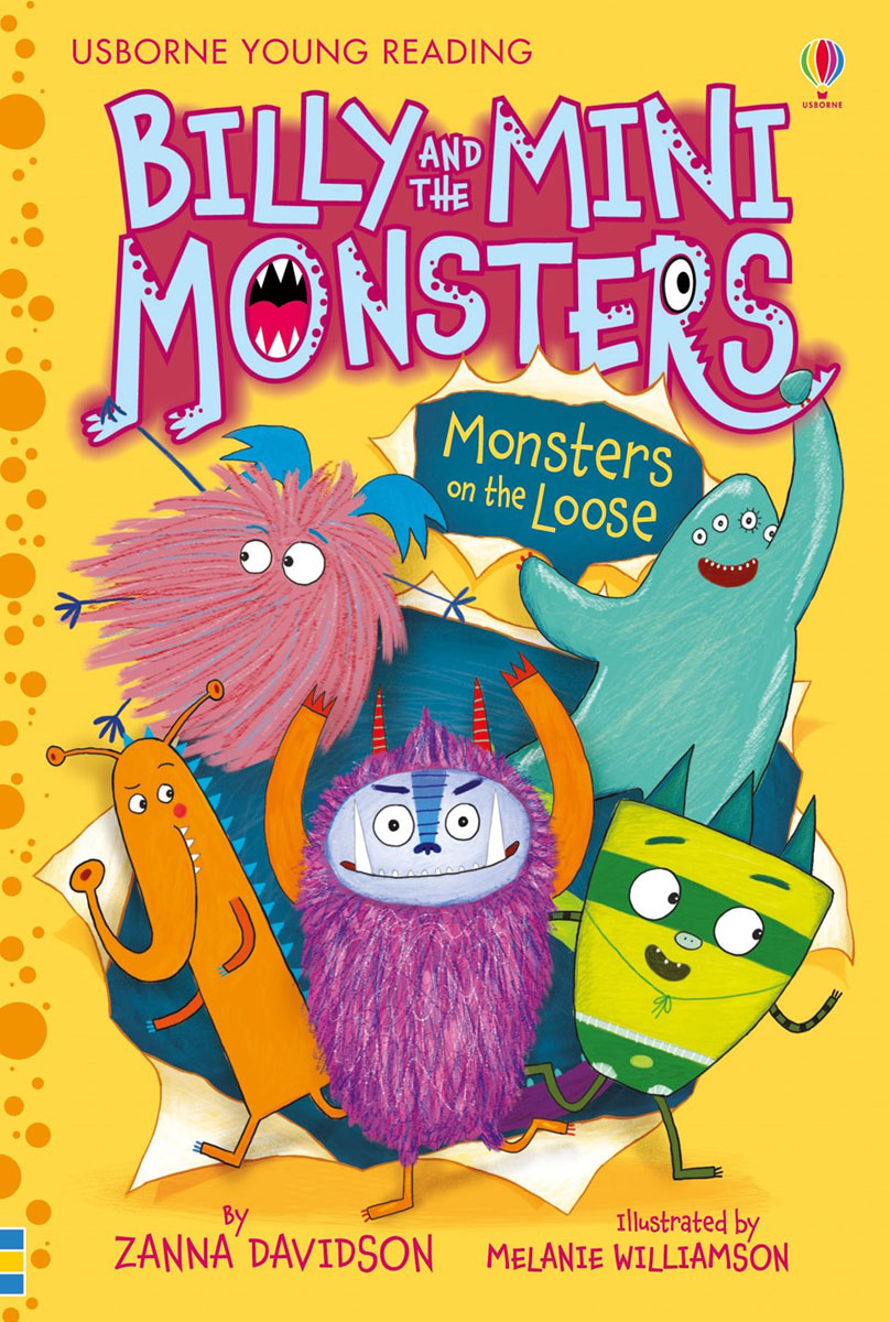 Billy and the Mini Monsters – Monsters on the Loose romping monsters stomping monsters