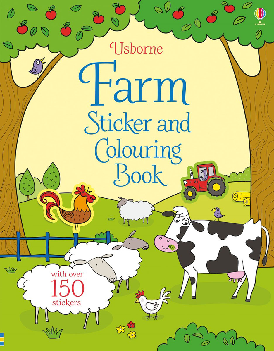 Farm sticker and colouring book maisy s farm sticker book