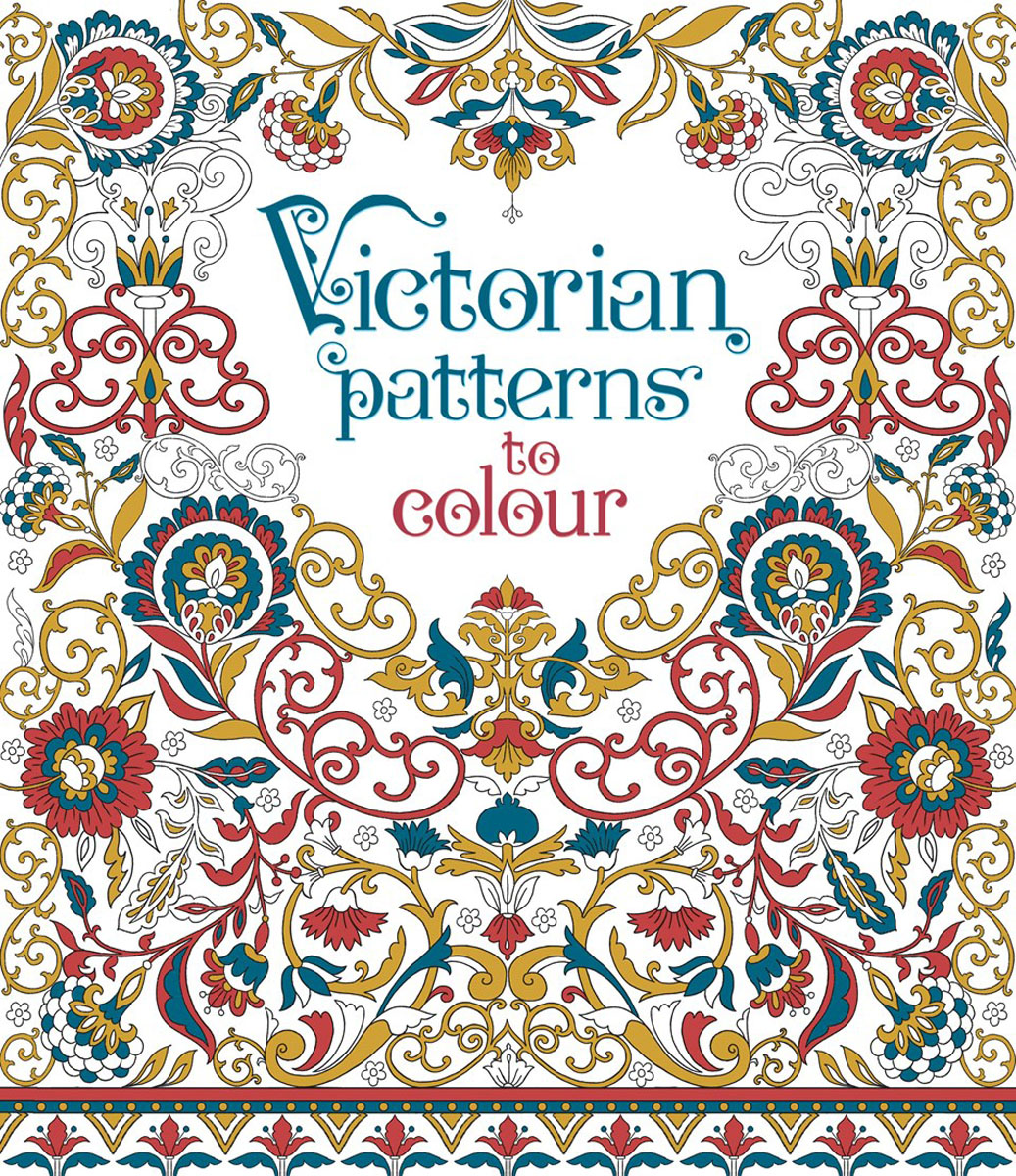 Victorian patterns to colour folk art patterns to colour
