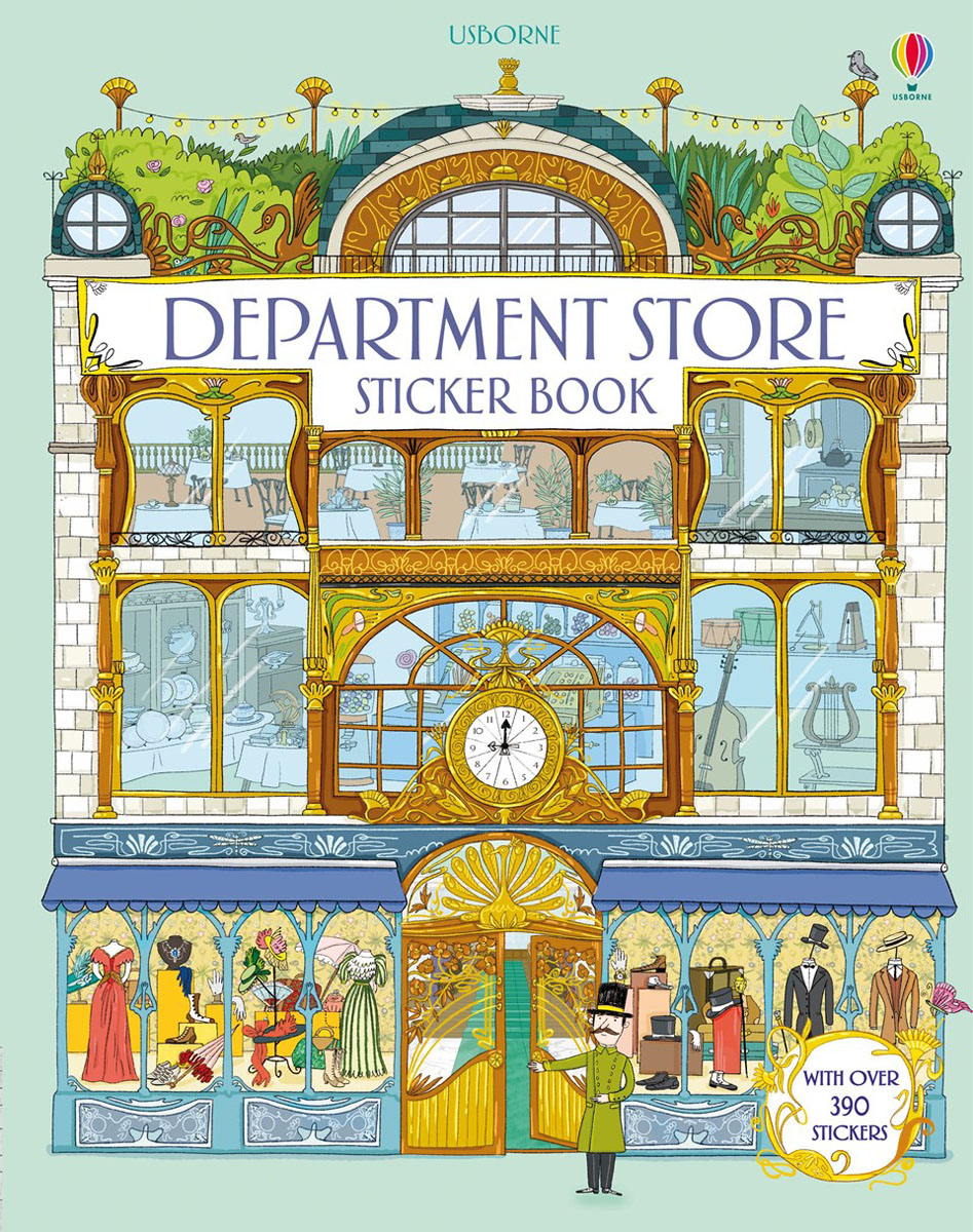 Department store sticker book средство от моли yue le department store
