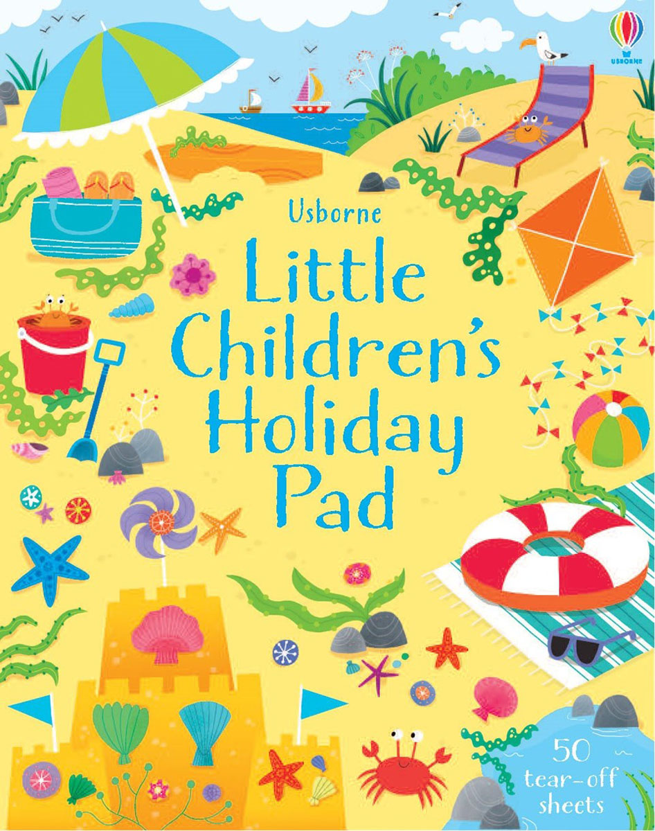 Little children's holiday pad little children s knights and castles activity book