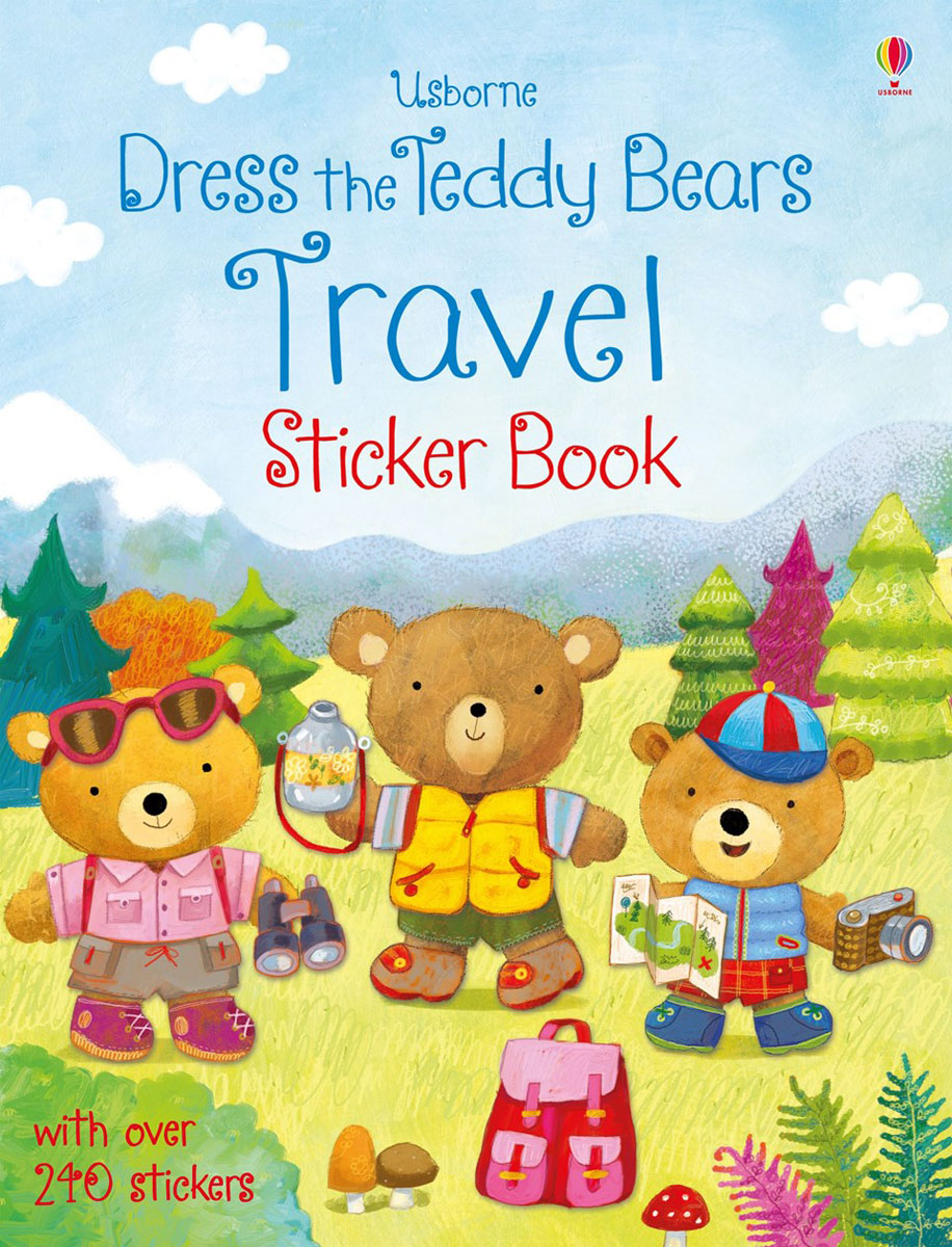 Dress the teddy bears travel sticker book teddy mars book 3 almost an outlaw