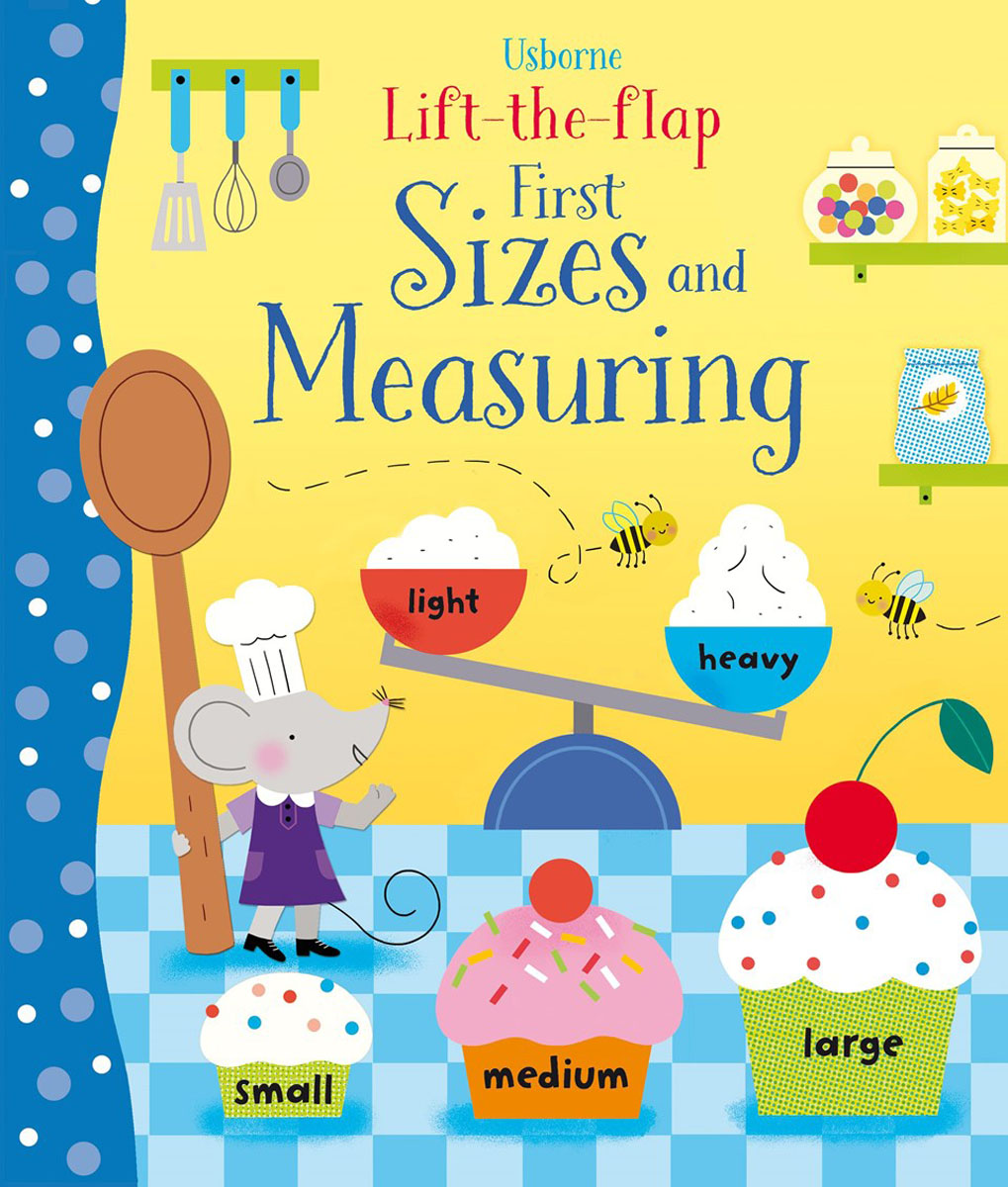Lift-the-flap first sizes and measuring supermarket gremlins lift the flaps book