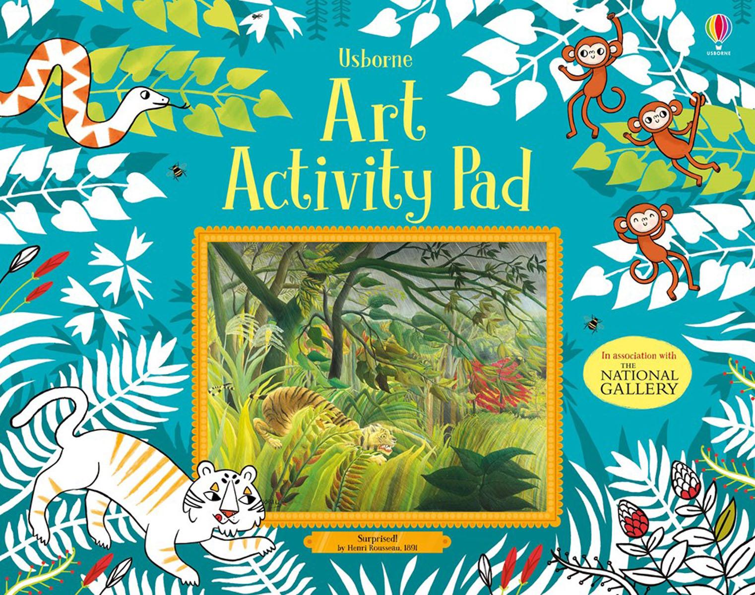 Art activity pad meet the artist henri matisse