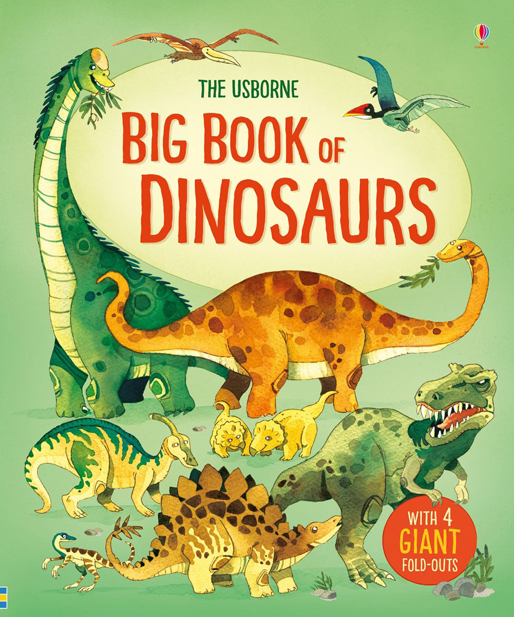 Big book of dinosaurs the biggest smallest christmas present