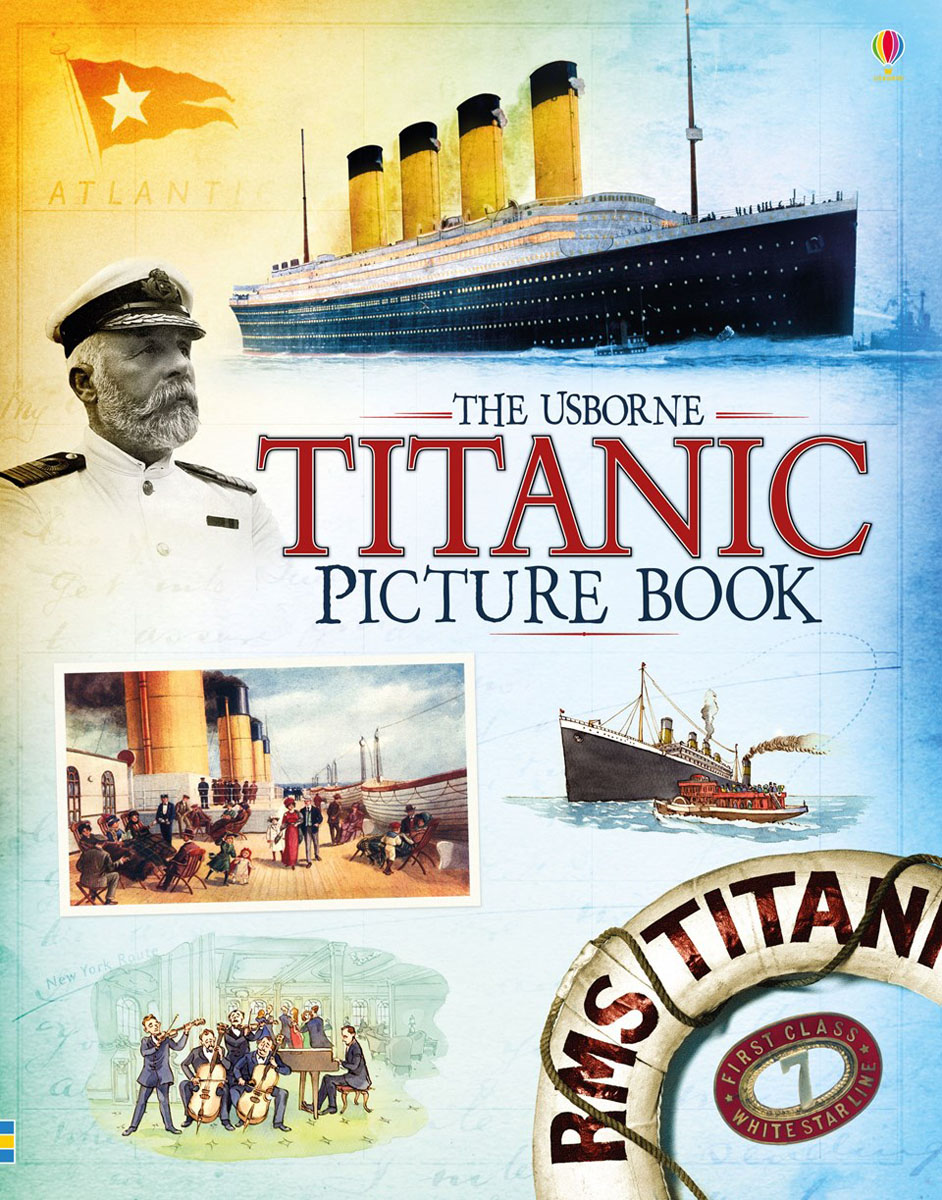 Titanic picture book ship construction