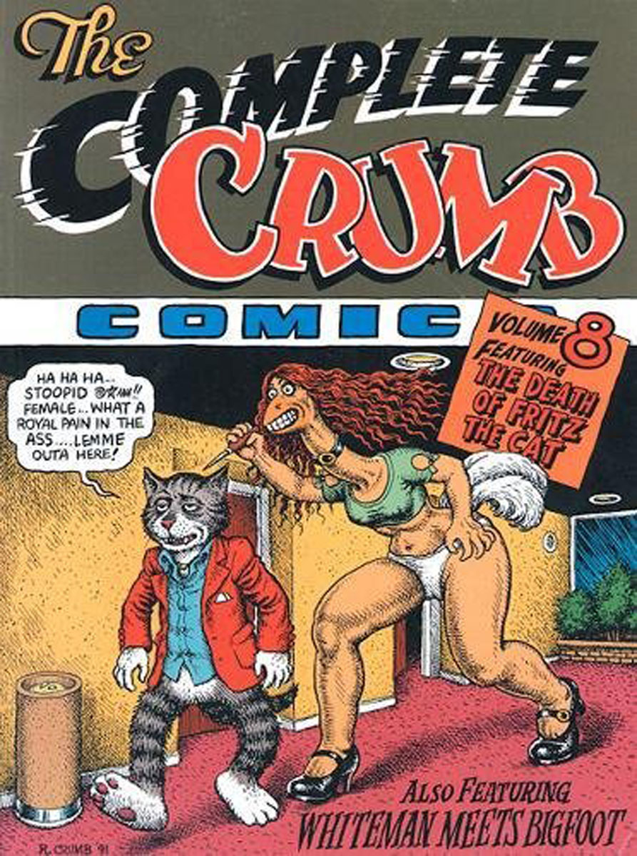 The Complete Crumb Comics Vol.8 creepy comics volume 2