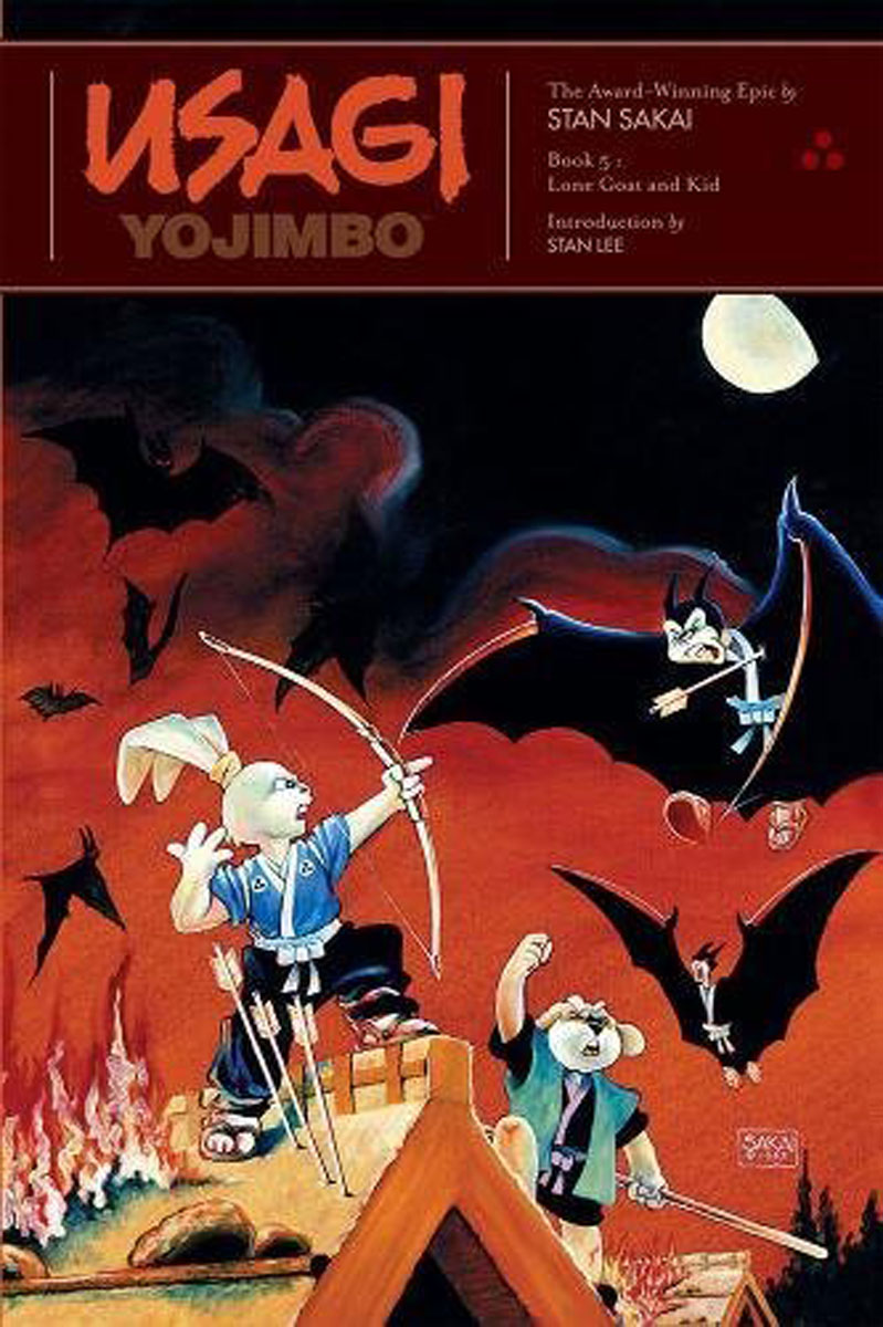 Usagi Yojimbo: Book 5: Lone Goat and Kid lone wolf and cub omni vol 6