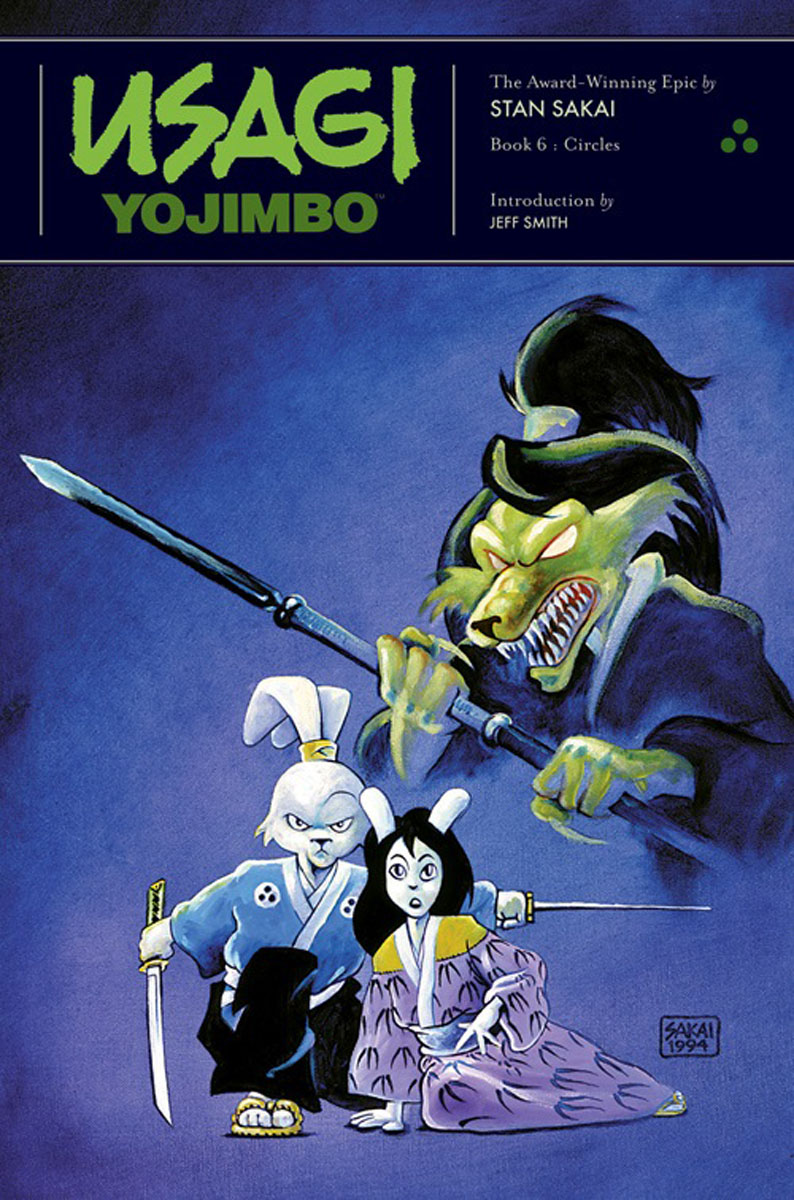 Usagi Yojimbo: Book 6: Circles usagi yojimbo saga volume 7