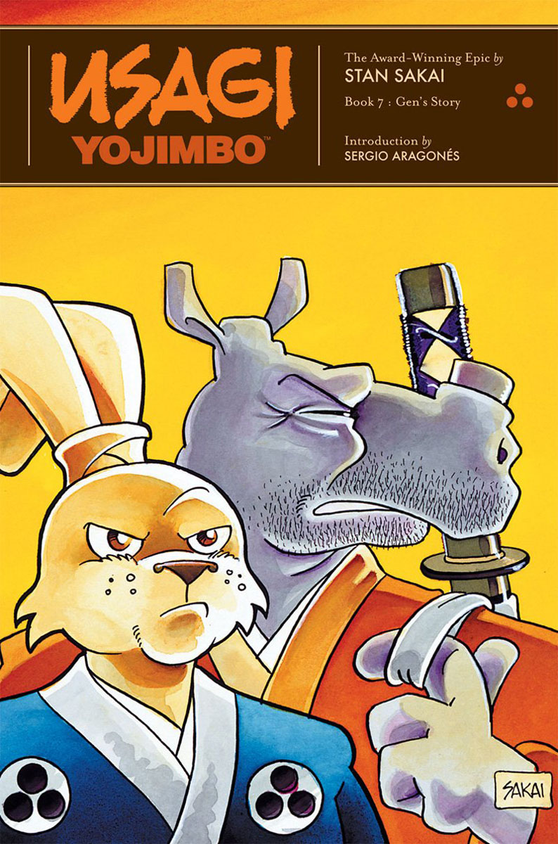 Usagi Yojimbo: Book 7: Gen's Story usagi yojimbo book 5 lone goat and kid