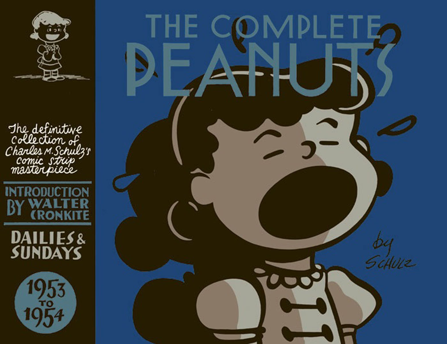 THE COMPLETE PEANUTS 1953-1954 bim and the cloud
