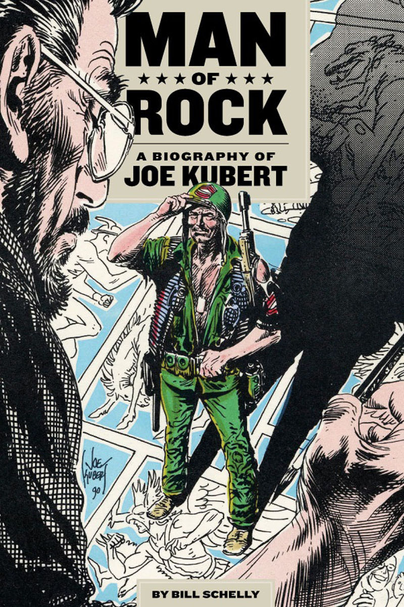 Man of Rock karin kukkonen studying comics and graphic novels