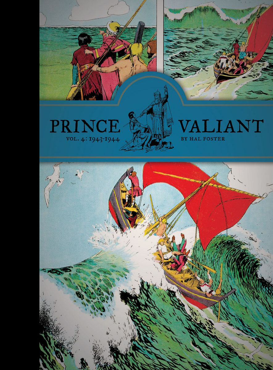 Prince Valiant Vol.4: 1943-1944 lament of the lost moors vol 4 kyle of klanach