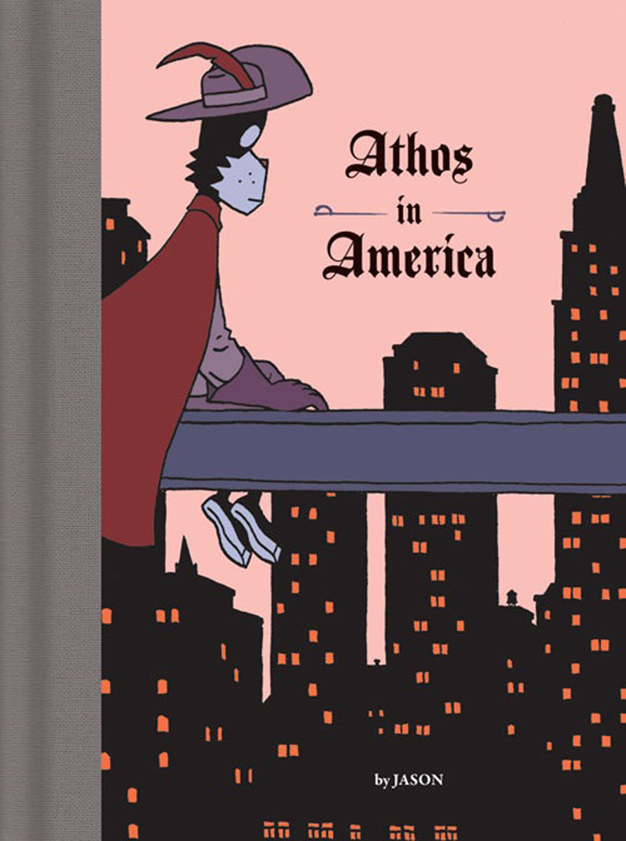 Athos in America a cat a hat and a piece of string