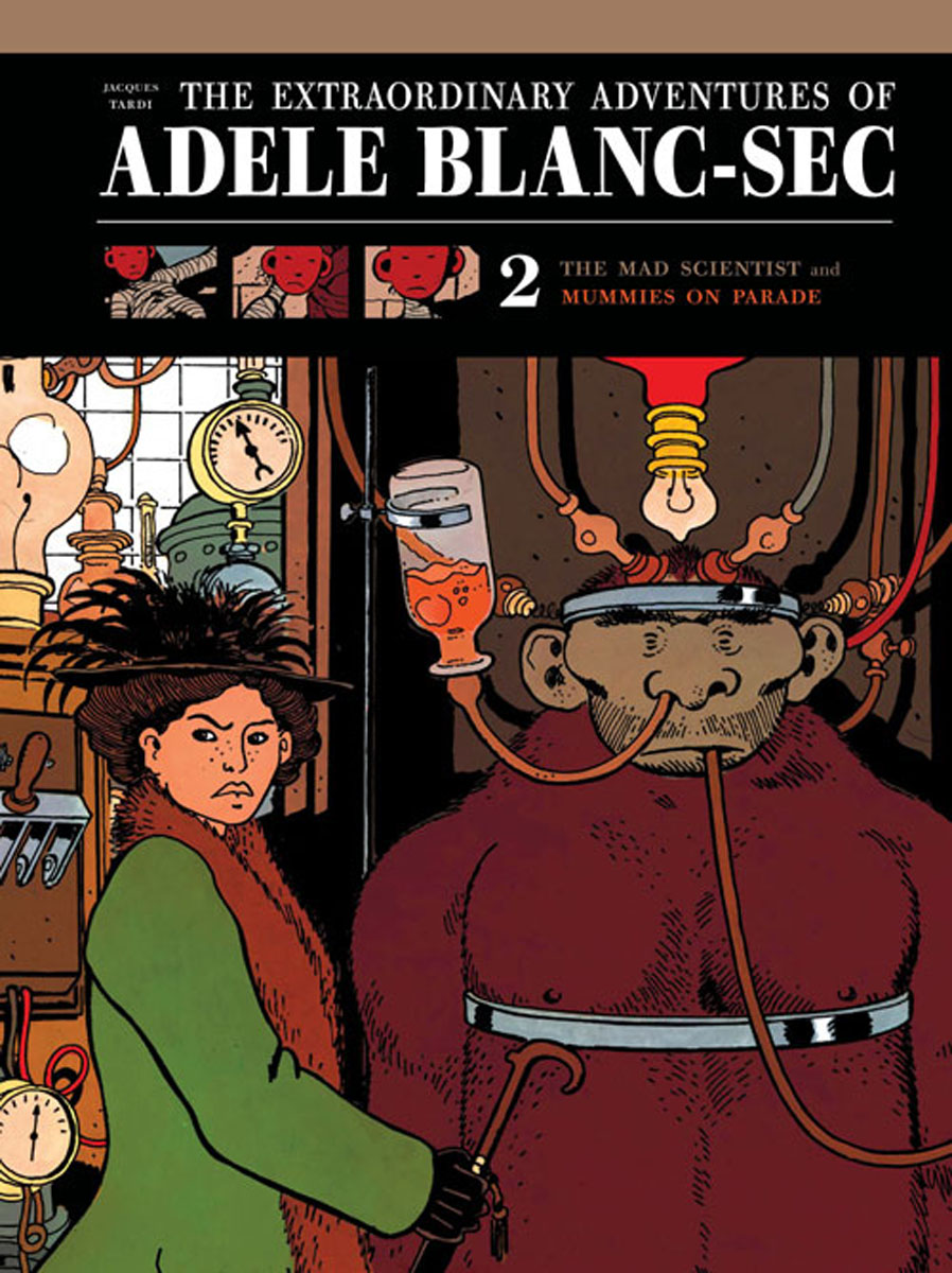 Extraordinary Adventures of Adele Blanc-Sec Vol. 2 a light in the window