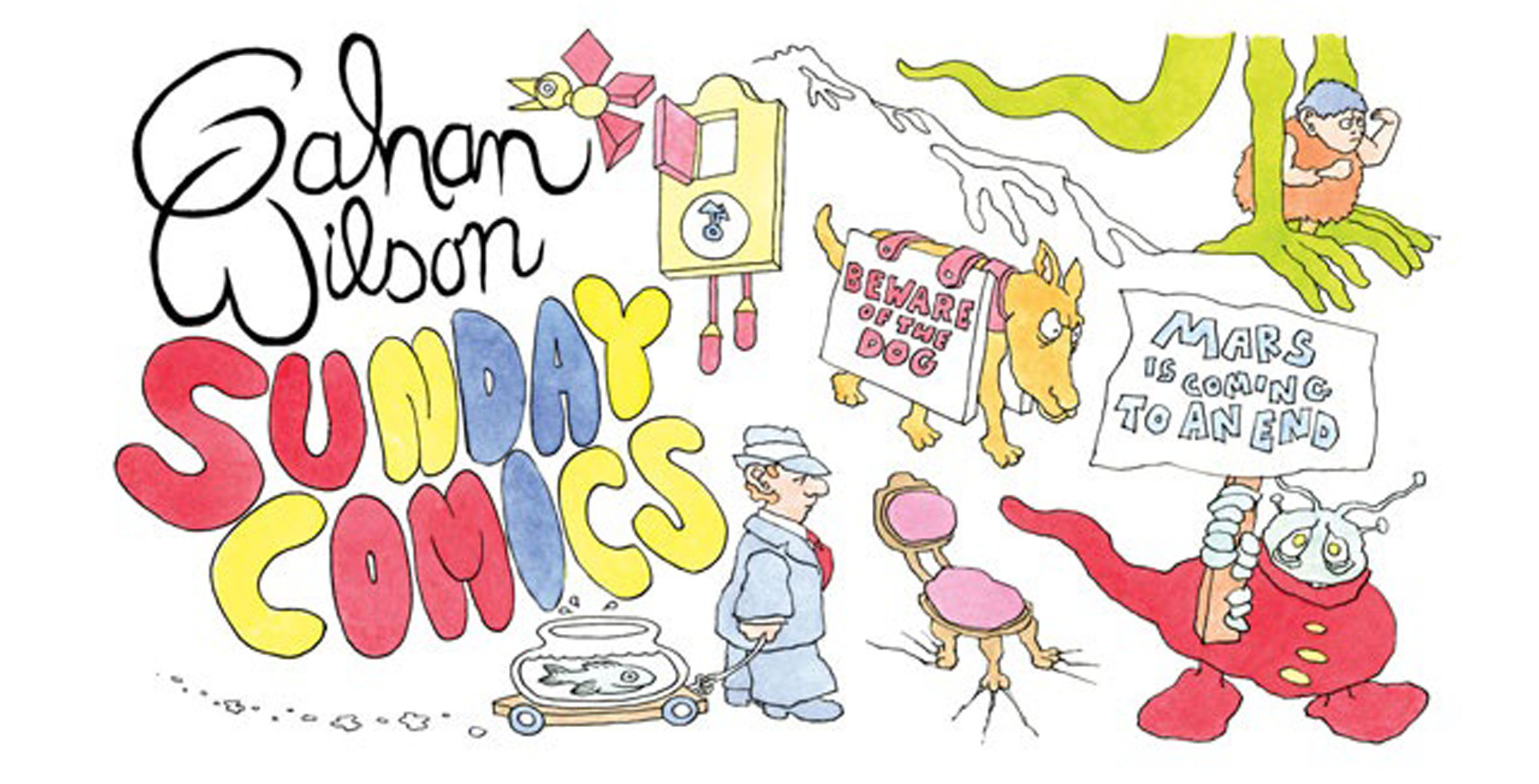Gahan Wilson Sunday Comics the comedy of errors