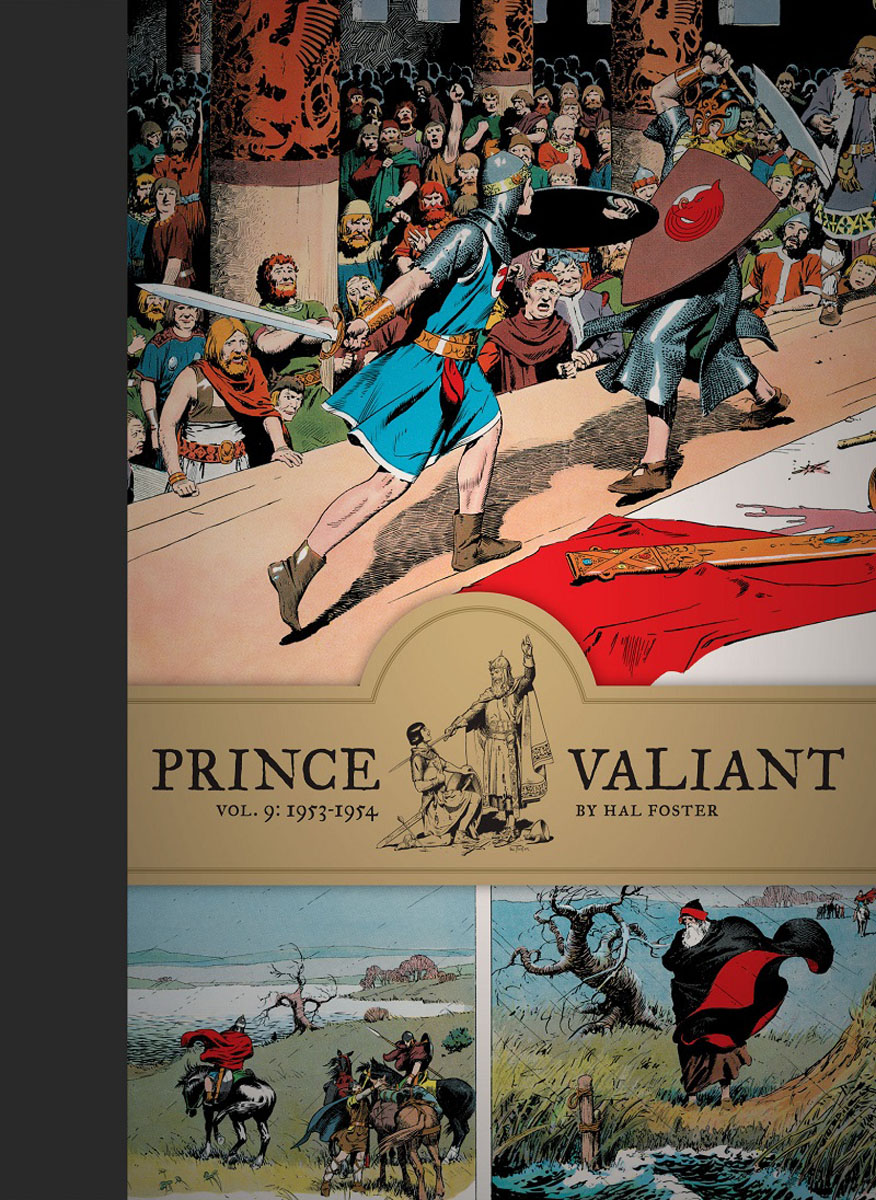 Prince Valiant Vol.9: 1953-1954 crusade vol 3 the master of machines
