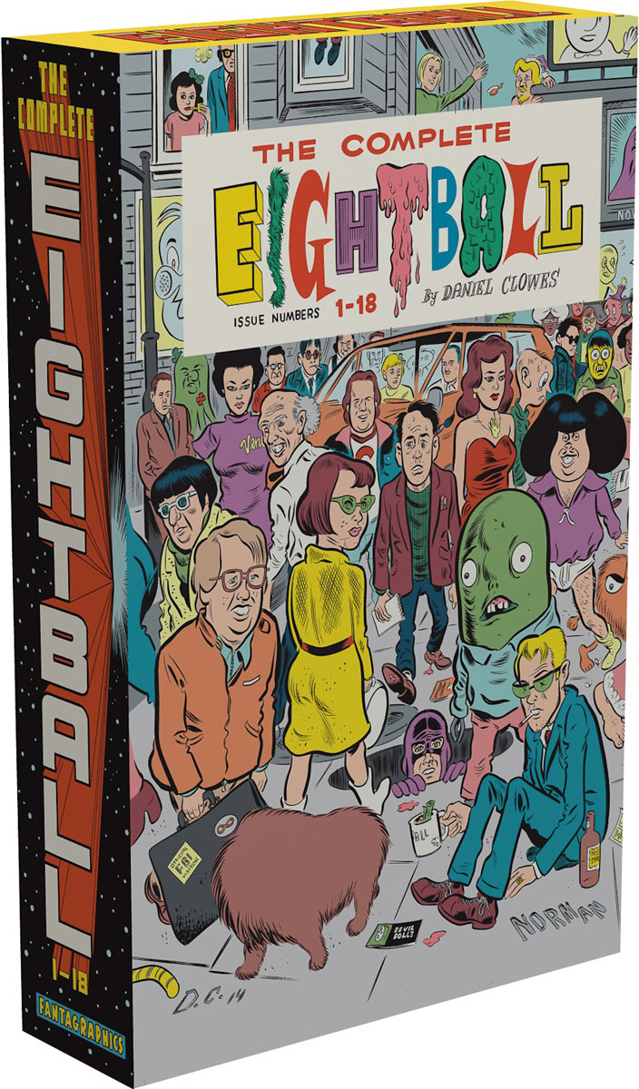 The Complete Eightball 1-18 clowes daniel david boring