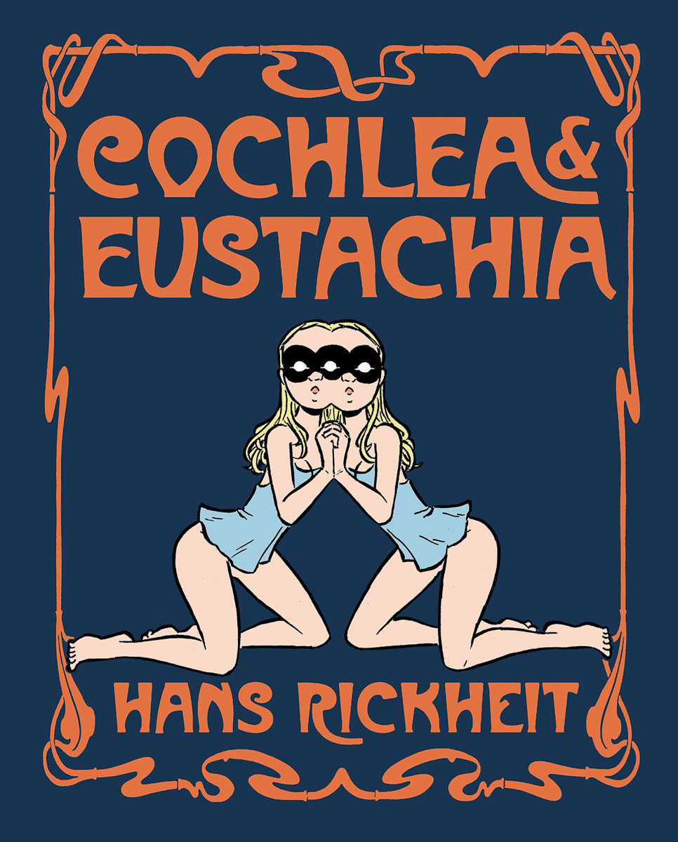 Cochlea & Eustachia they do it with mirrors