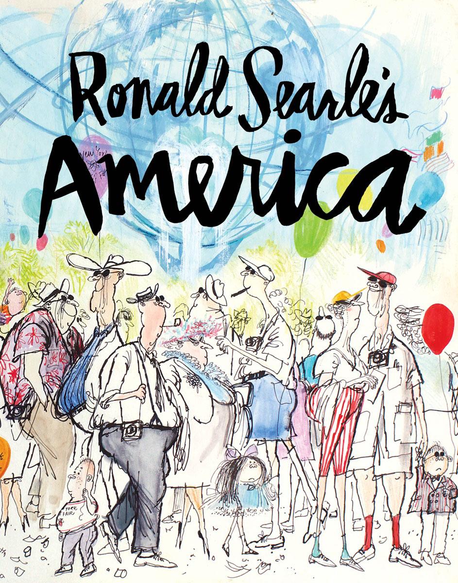 Ronald Searle's America часы nixon nixon ni001duoza43