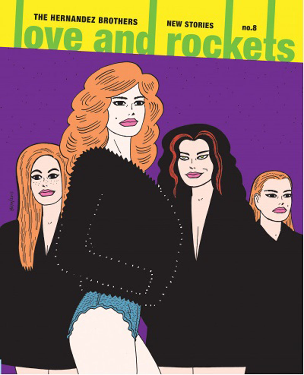Love and Rockets: New Stories No. 8 andrew blauner brothers 26 stories of love and rivalry