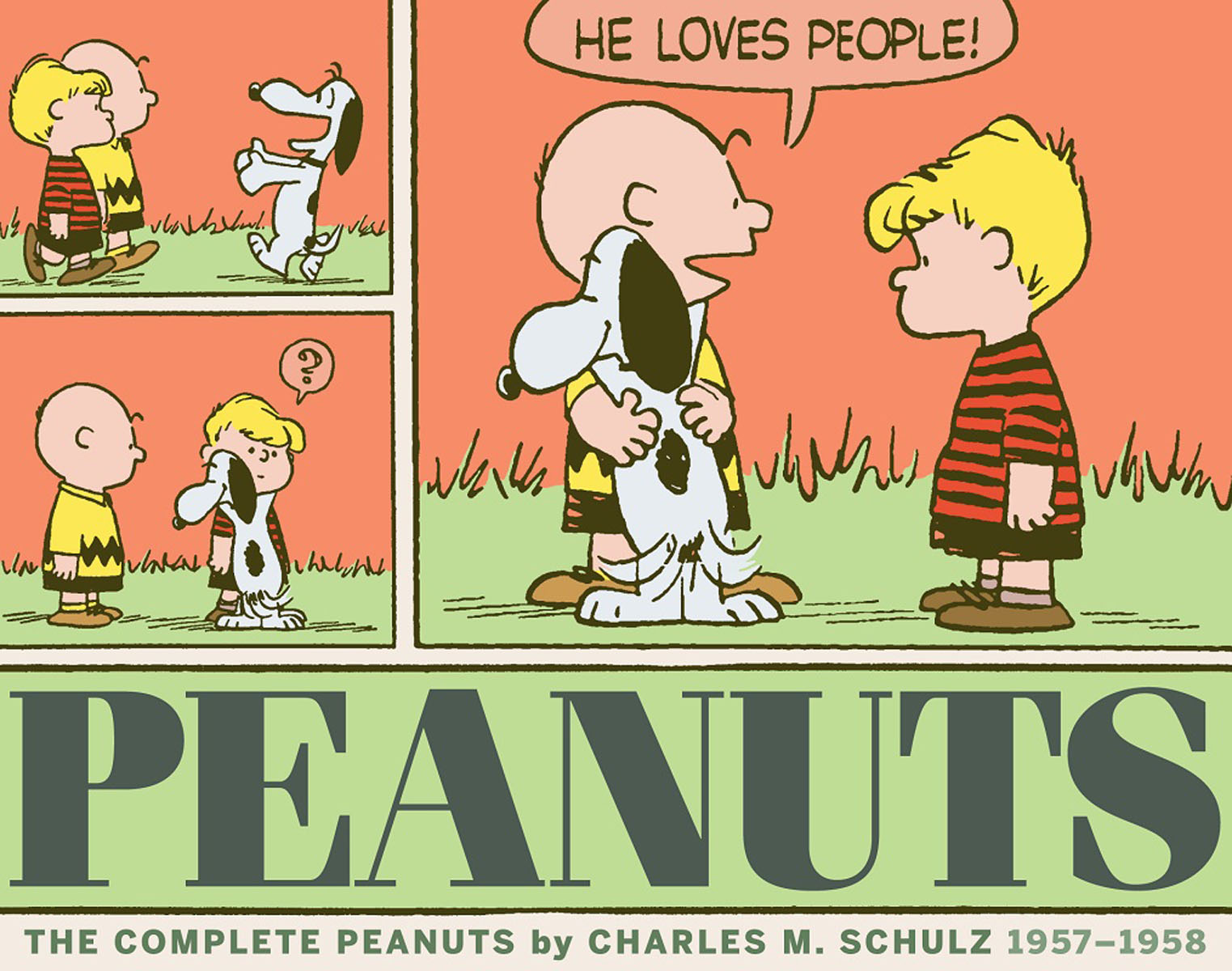 The Complete Peanuts 1957-1958 driven to distraction