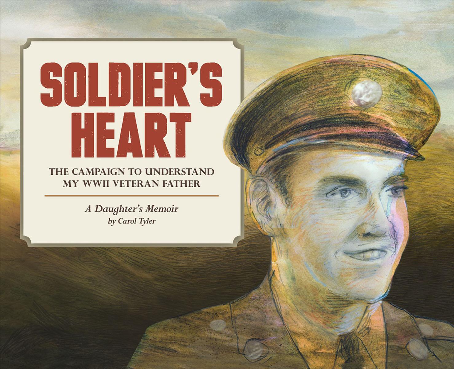 Soldier's Heart rain drops in her heart