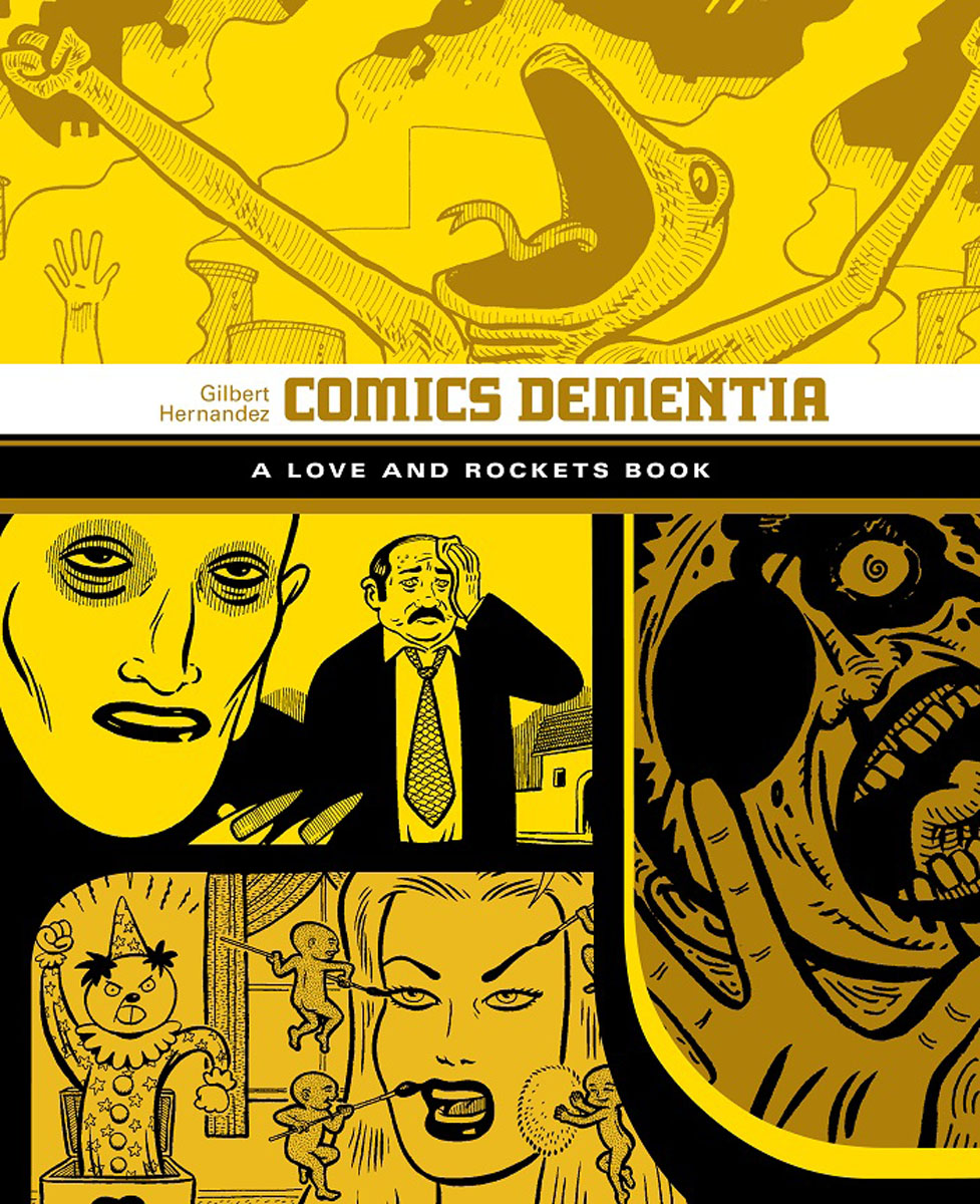 Comics Dementia god and science return of the ti girls love and rockets
