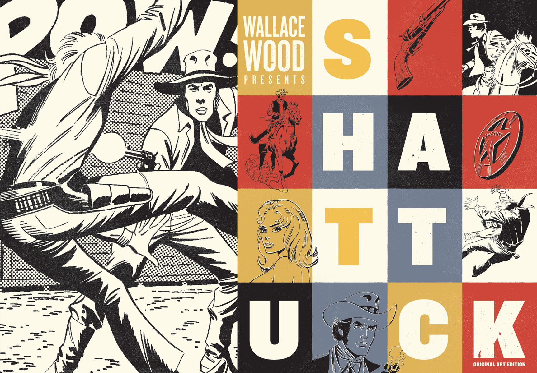 Wallace Wood Presents: Shattuck paul wood western art and the wider world