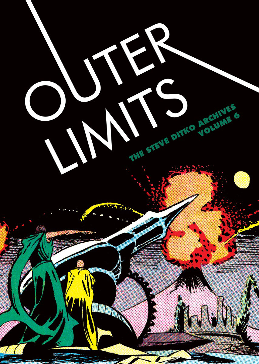 Outer Limits: The Steve Ditko Archives Vol. 6 the law of god an introduction to orthodox christianity на английском языке