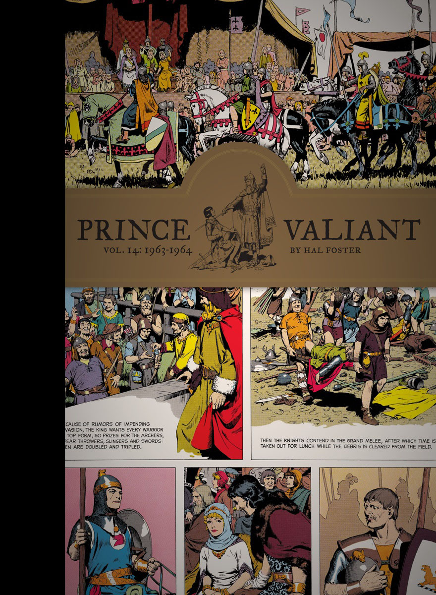 Prince Valiant Vol. 14: 1963-1964 the salmon who dared to leap higher
