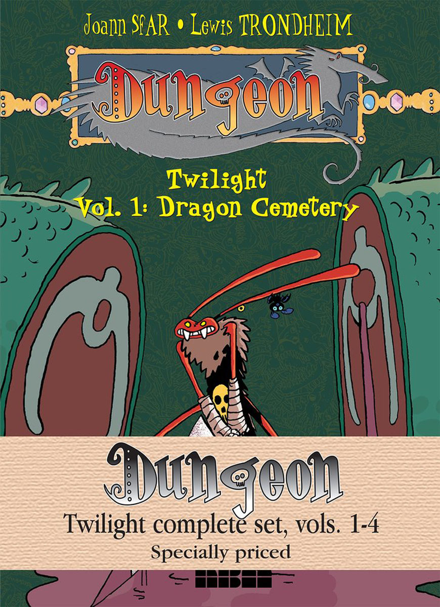 Dungeon: Twilight Complete Set Vols. 1-4 a caress of twilight