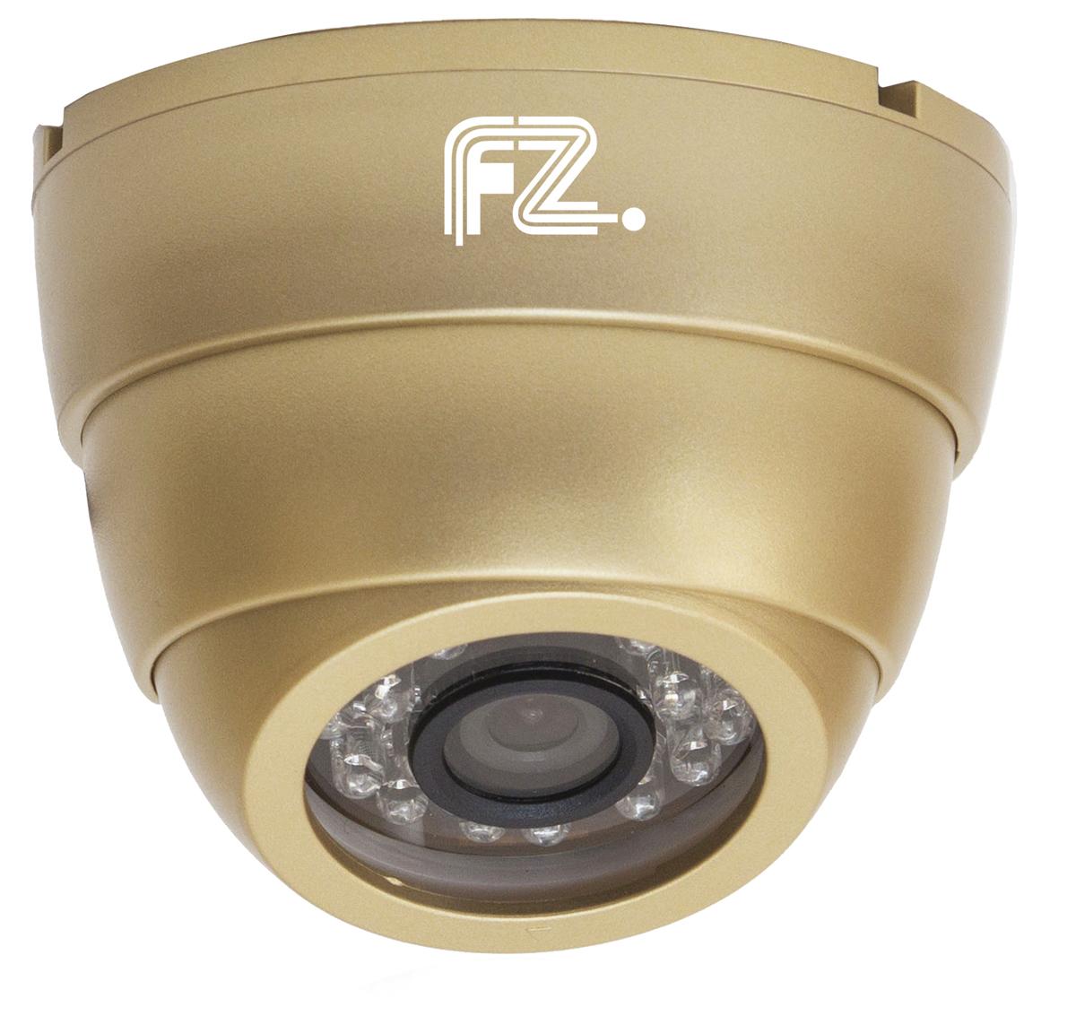 Fazera zIPCam-DIR24-1080 камера видеонаблюденияzIPCam-DIR24-1080IP Видеокамера купольная уличная с ИК подсветкой c разрешением 1080p