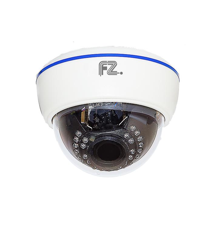 Fazera zIPCam-DVIRP30-1080 камера видеонаблюденияzIPCam-DVIRP30-1080IP Видеокамера купольная внутренняя с ИК подсветкой с разрешением 1080p и вариофокальным объективом 2.8-12мм