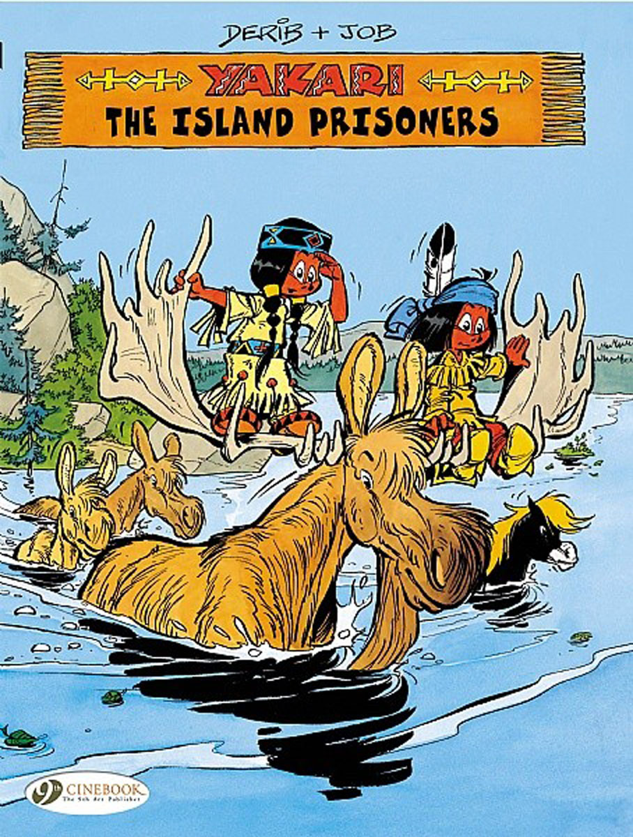 Yakari Vol.7: The Island Prisoners powers the definitive hardcover collection vol 7