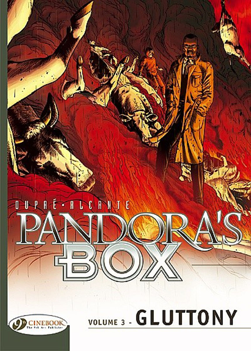 Pandora's Box Vol.3: Gluttony crusade vol 3 the master of machines