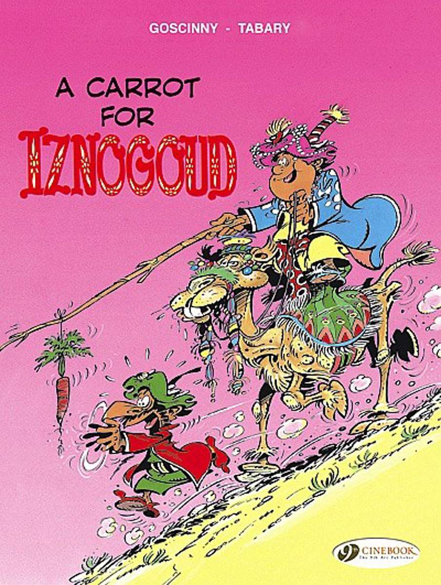 Iznogoud Vol.5: A Carrot for Iznogoud hint hint driven from distraction