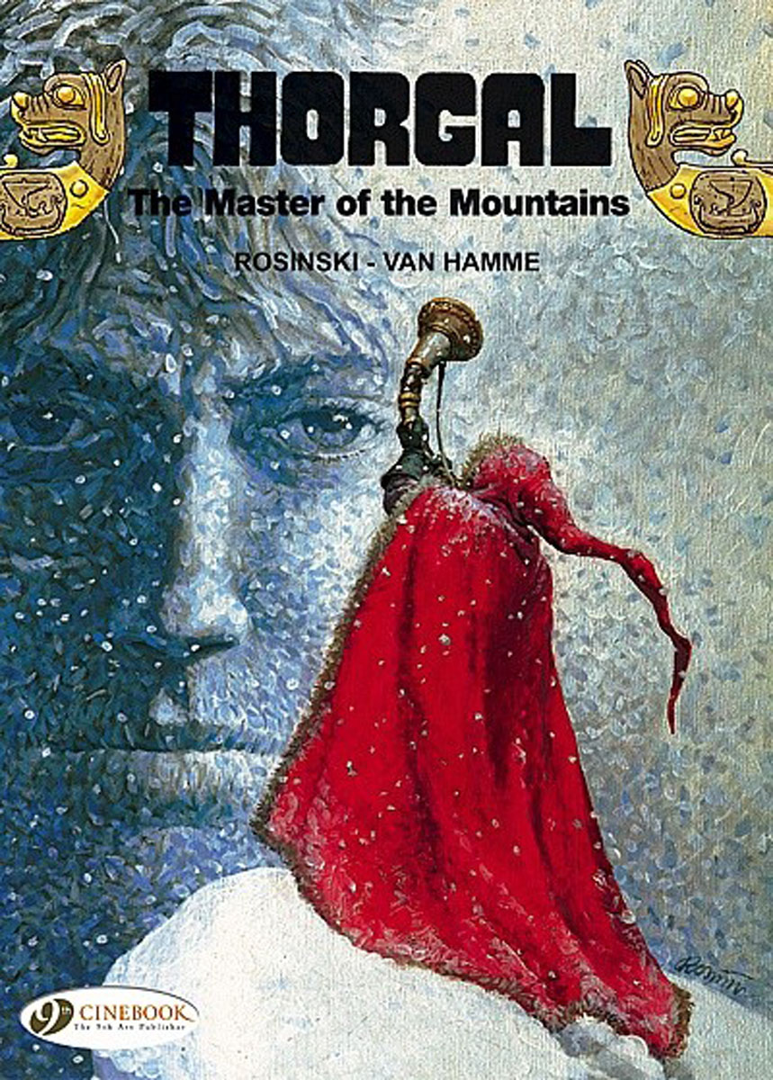 Thorgal Vol.7: The Master of the Mountains thorgal vol 17 the blue plague