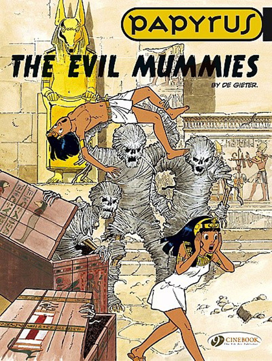 Papyrus Vol.4: The Evil Mummies lament of the lost moors vol 4 kyle of klanach