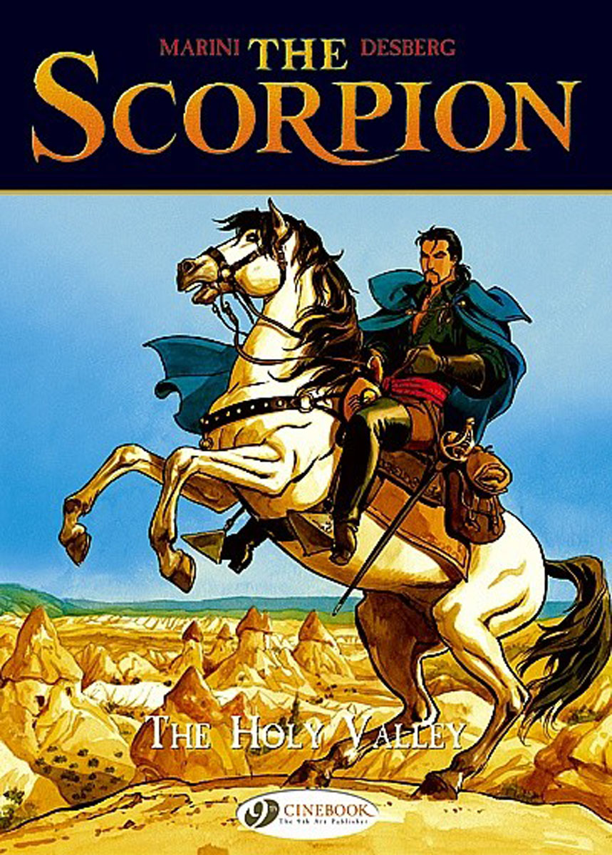 Scorpion, The Vol.3: The Holy Valley the reign of terror in america