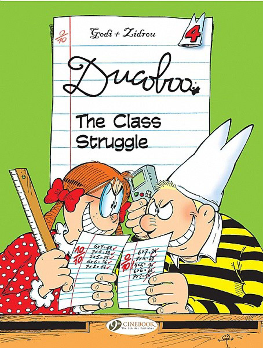 Ducoboo Vol.4: The Class Struggle managing the store