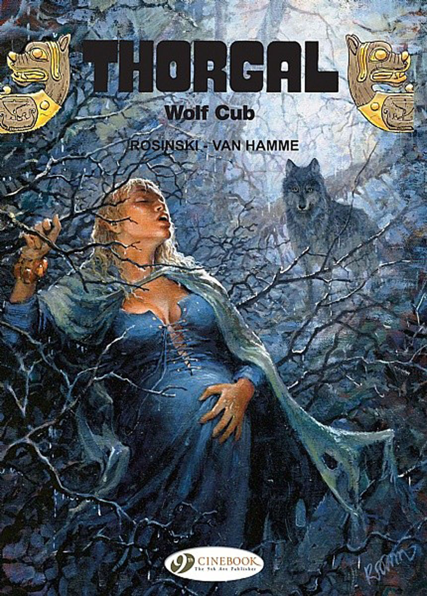 Thorgal: Volume 8: Wolf Cub thorgal vol 17 the blue plague