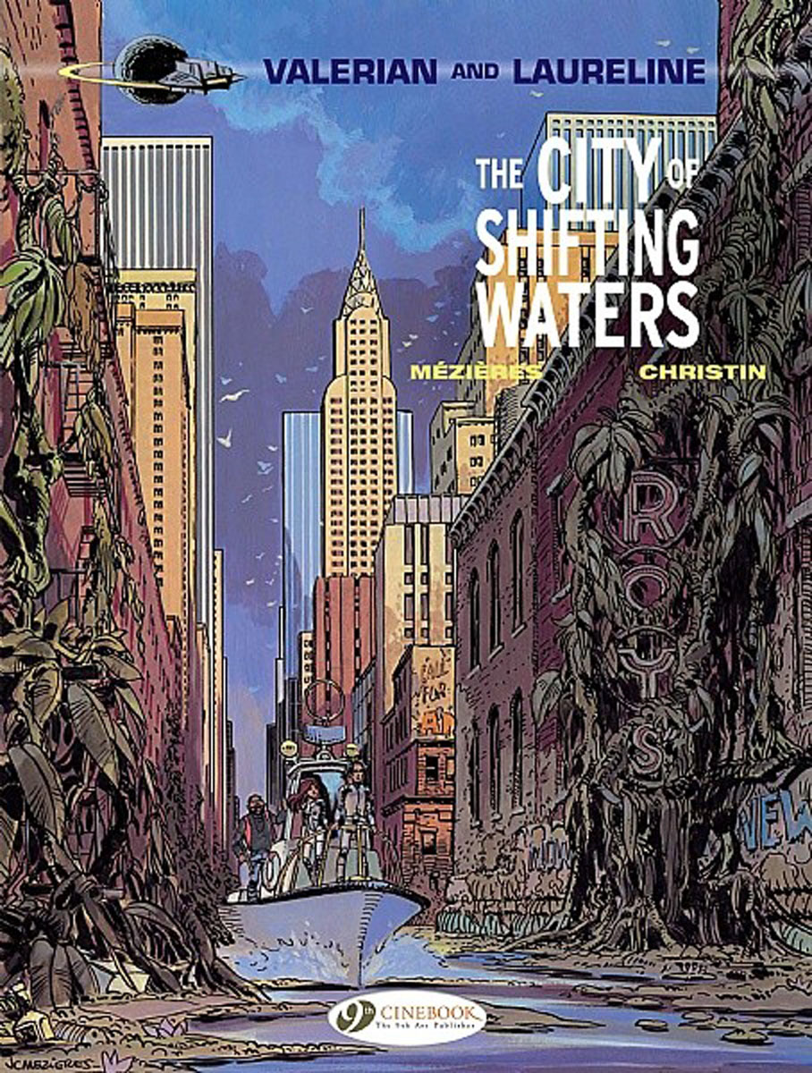 Valerian Vol.1: The City of Shifting Waters the lone city 1 the jewel