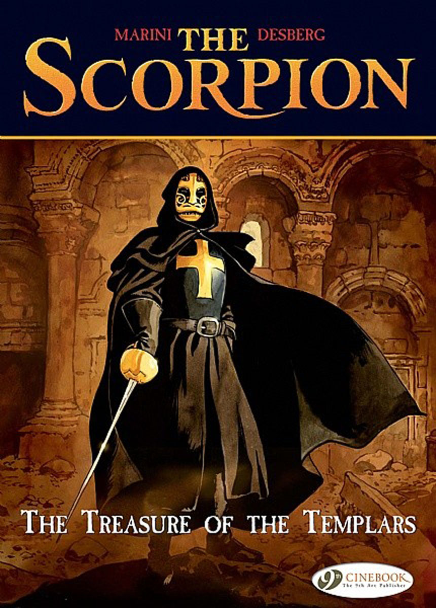 Scorpion, The Vol.4: The Treasure of the Templars lament of the lost moors vol 4 kyle of klanach