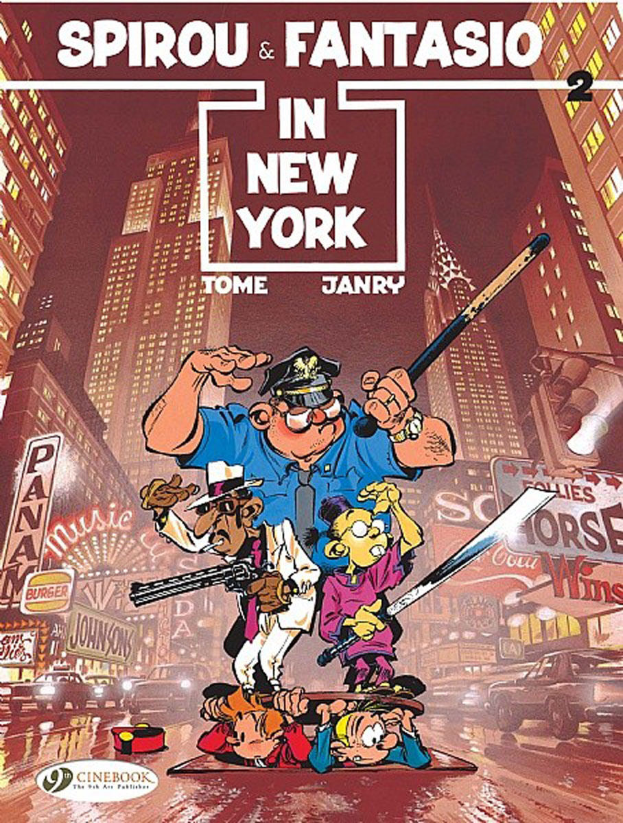 Spirou & Fantasio Vol.2: Spirou & Fantasio in New York lucky luke vol 12 the rivals of painful gulch
