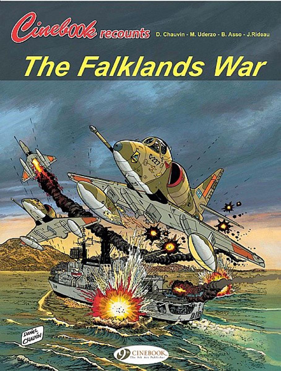 Cinebook Recounts 2: The Falklands War уэллс г война миров the war of the worlds