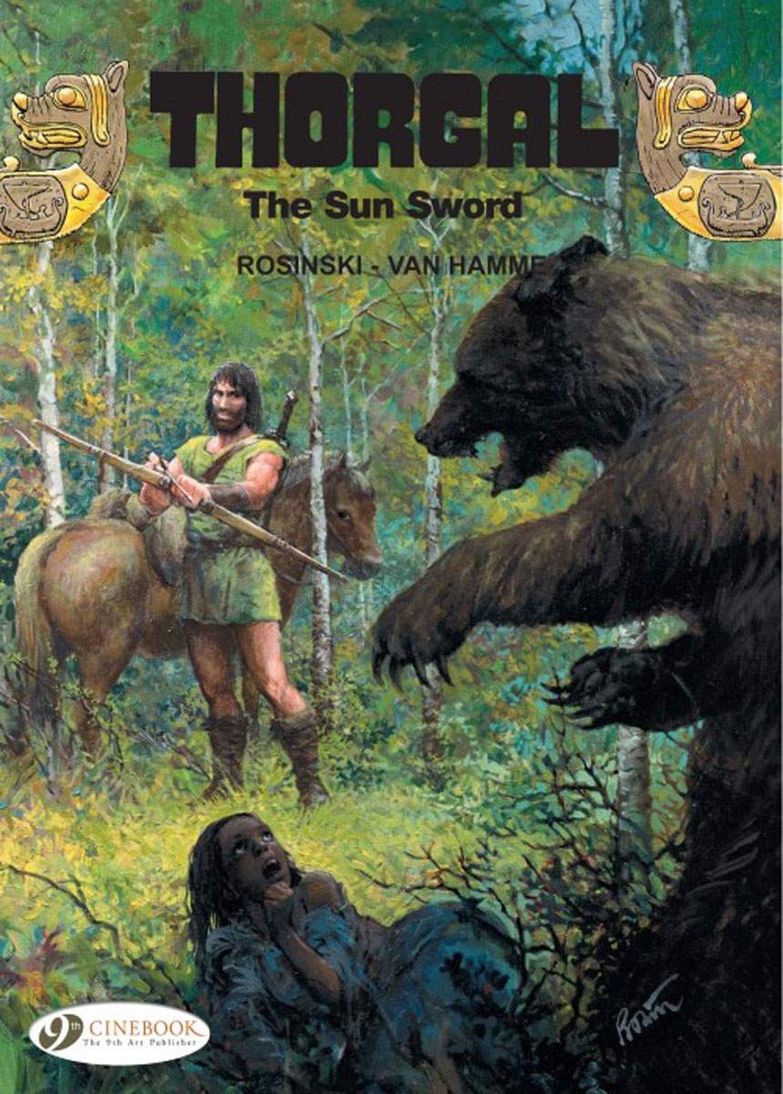 Thorgal Vol.10: The Sun Sword thorgal vol 17 the blue plague
