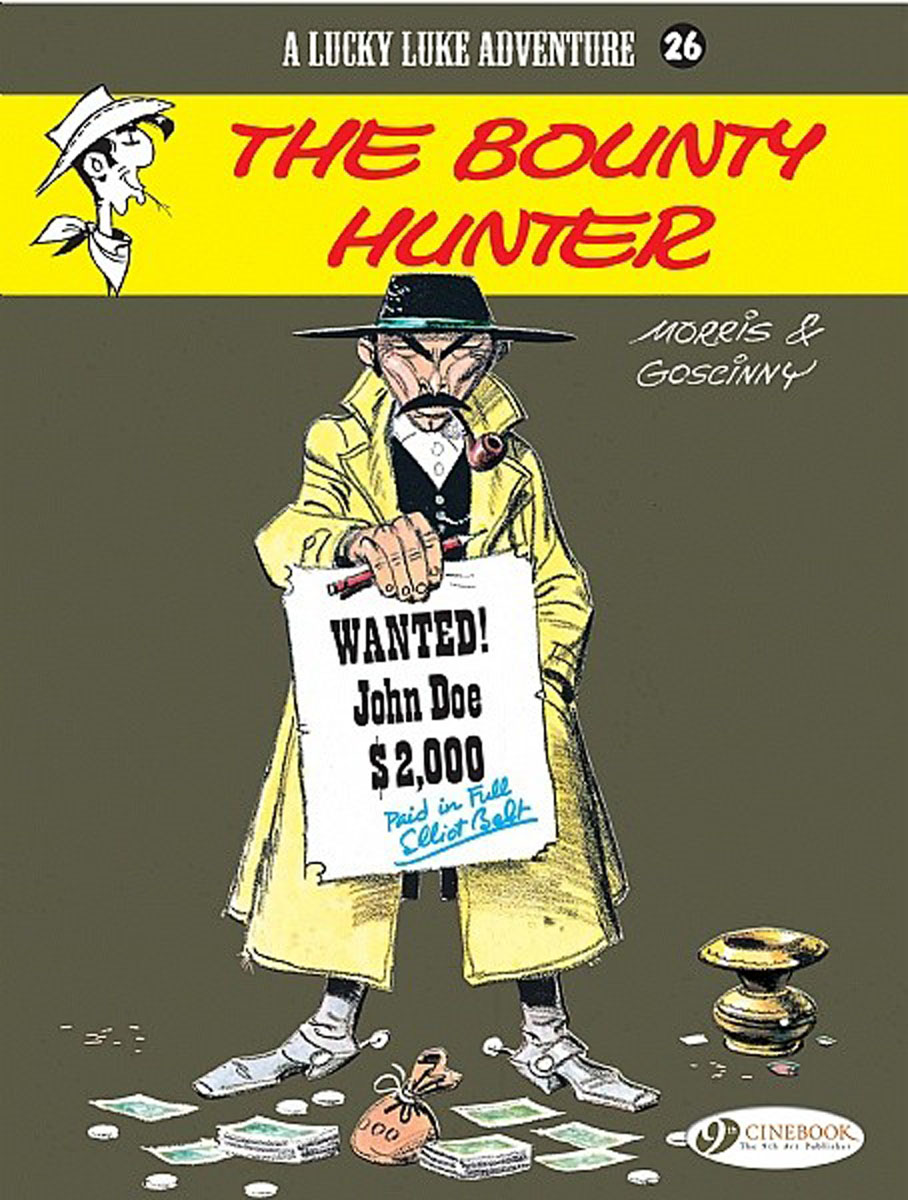 Lucky Luke Vol.26: The Bounty Hunter lucky luke vol 12 the rivals of painful gulch