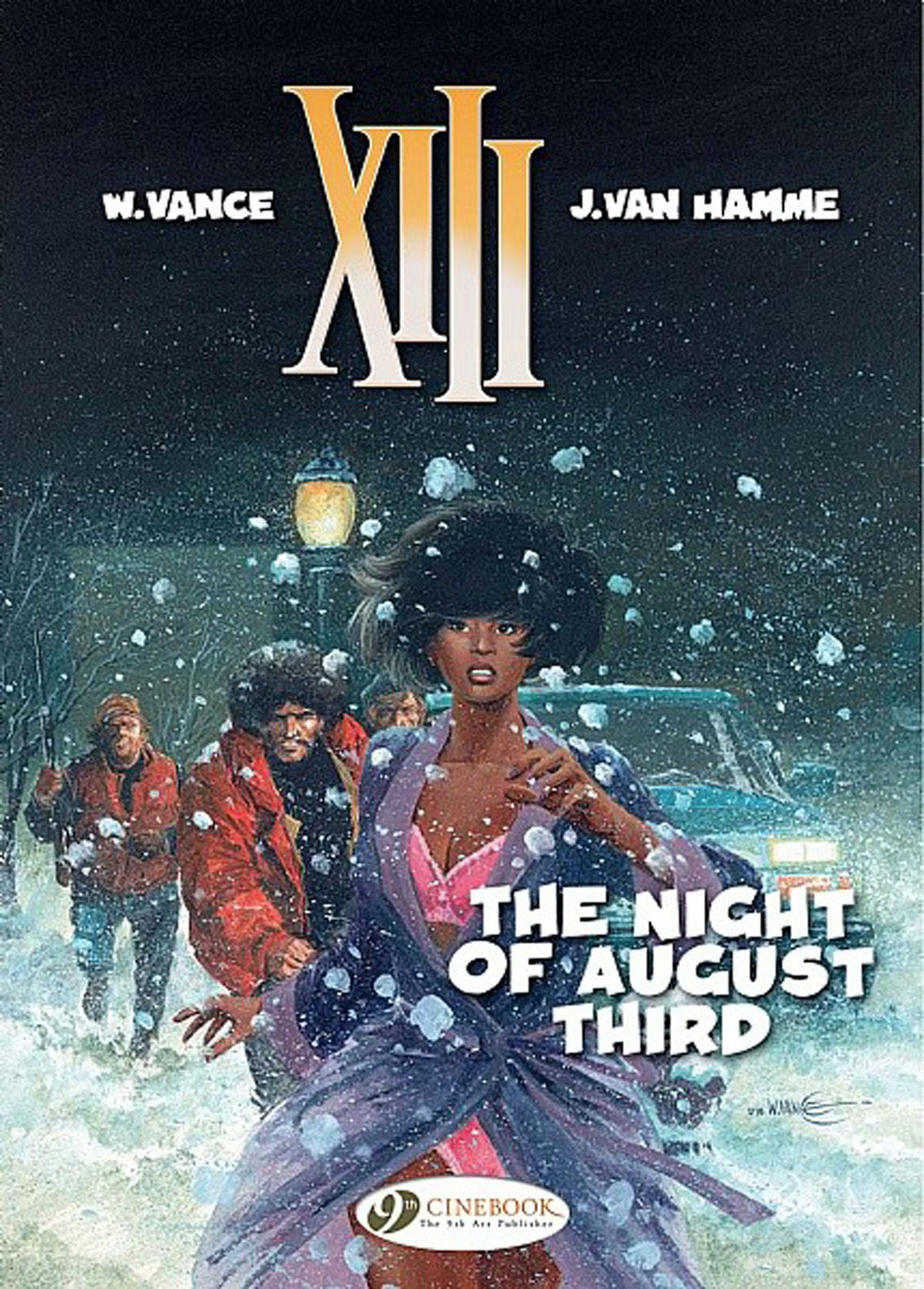 XIII Vol.7: The Night of August Third last templar vol 3 the the sunken church