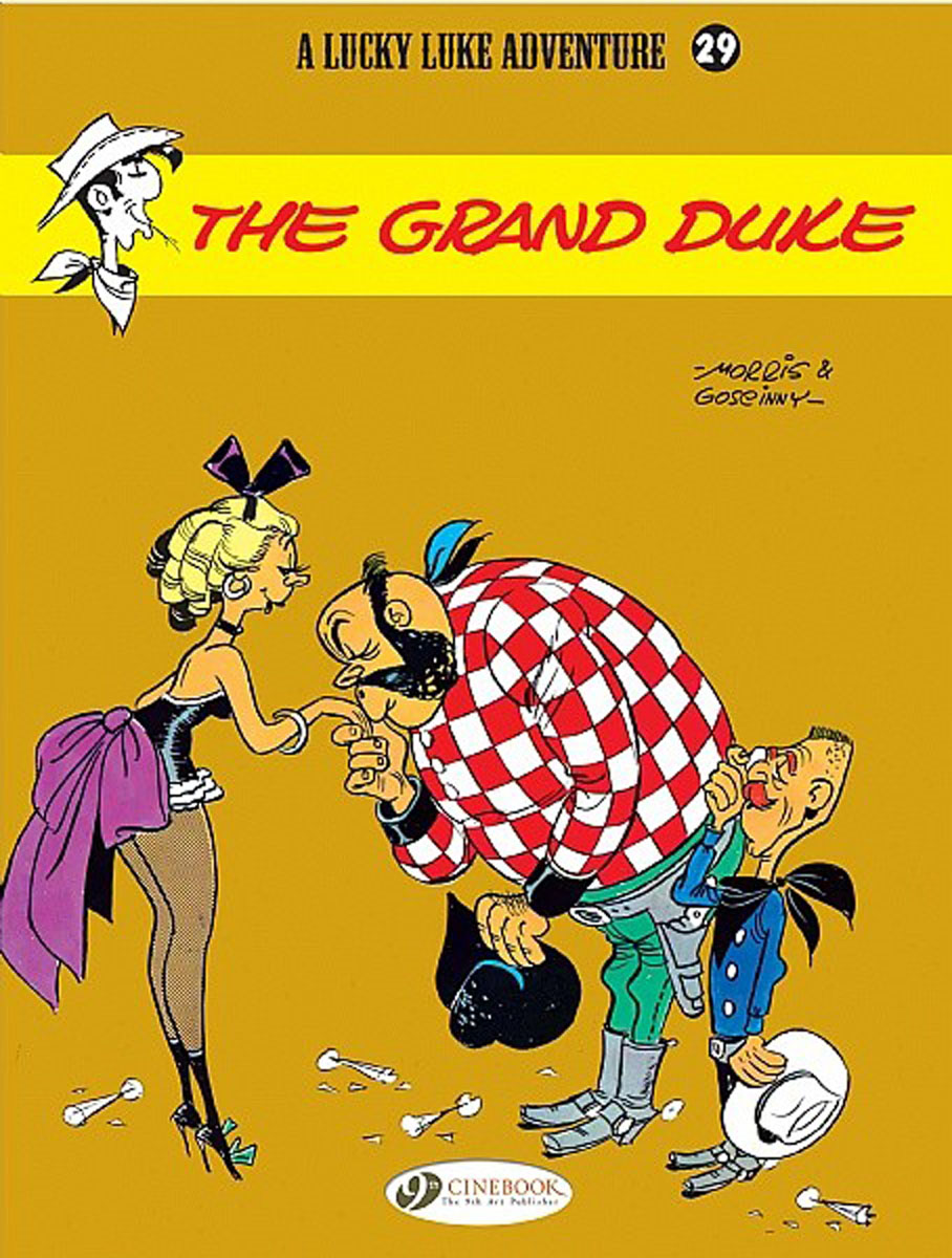Lucky Luke Vol.29: The Grand Duke lucky luke vol 12 the rivals of painful gulch
